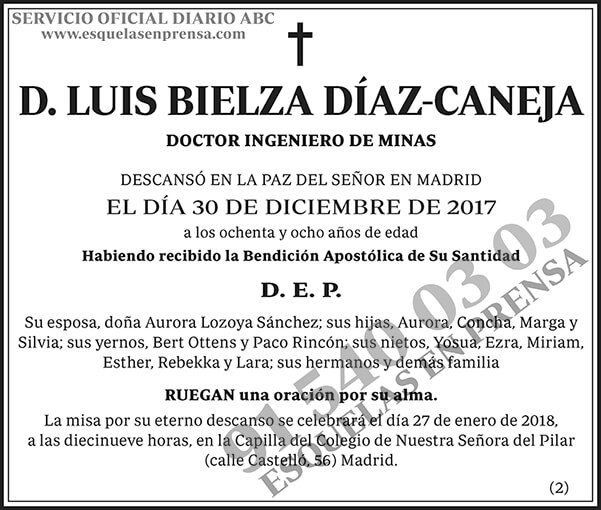 Luis Bielza Díaz-Caneja